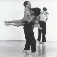 Schlachthof für Engel: company tanztheater homunculus 1992 (Foto: Michael Zechany)